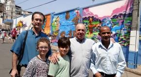 Teté prestigiou o 1º Concurso de Grafite de Manhuaçu